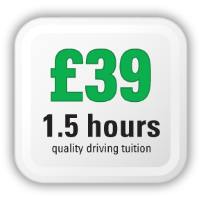 AMB Exeter Driving Tuition Pricing - £40 per hour and a half - quality driving instructor lessons