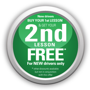 Buy your 1st lesson, get your 2nd lesson free for new drivers only - AMB Driving Tuition Exeter